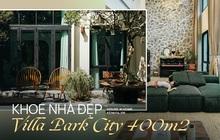 """Căn villa 400m2 có khoảng sân vườn ngập nắng gió, thiết kế đẹp tinh tế, giản đơn đề cao sự """"không hoàn hảo"""""""