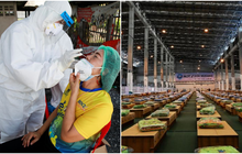 Ca nhiễm tăng kỷ lục vì Delta, quốc gia Đông Nam Á phải biến sân bay thành bệnh viện dã chiến chống Covid