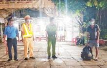 Một thanh niên đi bộ từ Bình Phước về Cà Mau tránh dịch