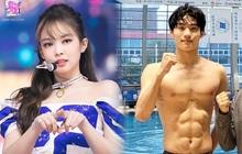 """Jennie (BLACKPINK) công khai ủng hộ soái ca bơi lội 8 múi cực """"mlem"""" tại Olympic, G-Dragon có ghen """"nổ mắt"""" không đây?"""