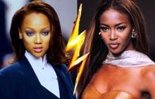 """Drama chưa kể: """"Báo đen"""" Naomi Campbell đánh """"sấp mặt"""" siêu mẫu Tyra Banks, người trong cuộc nhắc lại còn run sợ!"""