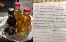 Bác hàng xóm già, phần cơm nấu hộ, bức thư tay cảm ơn và tình người giữa mùa giãn cách