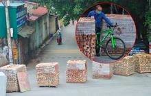 """Điều xe tải, dùng gạch, thùng container làm chốt phong tỏa: Người dân vẫn dùng mọi cách để """"thông"""" chốt"""