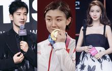 Huỳnh Hiểu Minh mừng rỡ khoe em họ giành huy chương vàng Olympic, động thái của Angela Baby lại làm Cnet lo lắng