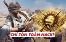 """Ngán ngẩm trước tình trạng hack/ cheat tràn lan trong PUBG Mobile, rank Chí Tôn toàn """"siêu nhân"""" hack?"""