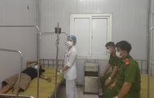 4 chiến sĩ công an hiến máu cứu một tội phạm ma túy