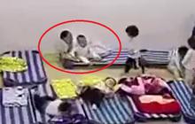 Đột xuất kiểm tra camera lớp học vào giờ ăn trưa, bà mẹ bật khóc khi phát hiện hành động của con trai 3 tuổi
