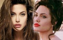 Angelina Jolie đẹp đến mức cân được mọi style makeup, nhưng có 1 kiểu dù có biếu tiền nàng cũng không dám thử lại