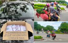 Xót xa cảnh người dân vạ vật chạy xe máy vượt hàng ngàn km về Nghệ An tránh dịch và những tấm phong bì nghĩa tình khiến nhiều người ấm lòng