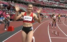 2 VĐV bị loại vì phạm quy, Quách Thị Lan giành vé vào bán kết 400m vượt rào nữ Olympic Tokyo 2020