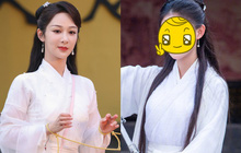 """Dương Tử vắng mặt, một nữ nhân khác """"làm loạn"""" với tạo hình Tiểu Long Nữ đẹp ngất ngây, liệu có cửa so với Lưu Diệc Phi?"""