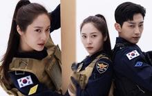 """Chết chìm với bể visual bùng nổ của """"cảnh sát"""" Krystal ở phim mới, netizen đùa """"bắt em đi chị ơi"""""""
