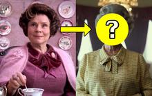 """""""Ác nữ Umbridge"""" của Harry Potter chính thức xuất hiện với vai Nữ hoàng Anh, netizen thế giới sửng sốt vì tạo hình """"chuẩn không cần chỉnh"""""""