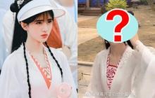 """Cúc Tịnh Y đụng độ """"bản fake"""" ngay trên phim trường: Váy áo giống hệt như song sinh, nhan sắc không hề kém cạnh?"""