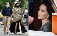 """Angelina Jolie """"đại náo"""" nước Ý: Lộ chân gân guốc da bọc xương nhưng visual kinh diễm """"cân"""" tất, át cả ái nữ """"khổng lồ"""" Shiloh"""