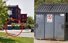 Tưởng xác người chết cháy là ma-nơ-canh, cảnh sát đem vứt vào thùng rác