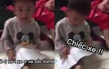 Cười đau bụng trước màn phát âm Tiếng Việt của cậu bé mầm non, nghe xong giáo viên nào cũng toát mồ hôi