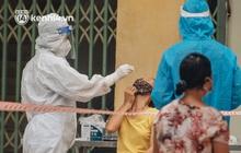 Ảnh, clip: Hà Nội thần tốc xét nghiệm Covid-19 cho 30.000 người dân tại quận Hai Bà Trưng