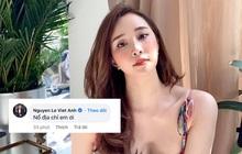 """1 phút sau khi Quỳnh Nga đăng ảnh khoe ngực căng đầy sexy thả thính, Việt Anh đã vội """"chốt đơn"""" luôn!"""