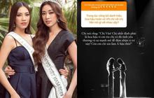 Tranh cãi phát ngôn của Kim Duyên khi nắm tay Khánh Vân tại chung kết Miss Universe 2019: Em kể một đằng, chị thuật lại 1 nẻo?
