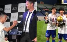 Chỉ bằng 1 lời nói chân thành, Ronaldo đã thay đổi số phận của cậu bé Nhật Bản từng bị đám đông chế giễu: Đẳng cấp thực thụ của một ngôi sao lớn!