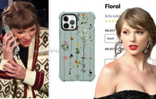 Soi chiếc ốp điện thoại của Taylor Swift, giá không rẻ nhưng chẳng là gì so với bạn thân!