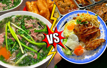 """""""Cuộc chiến"""" gây tranh cãi nhất cõi mạng hiện nay: Phở hay cơm tấm mới xứng đáng là món ăn đại diện Việt Nam?"""