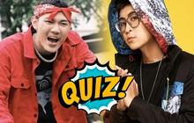 """Quiz: Hóng hớt trận beef """"đại náo"""" làng rap Việt tuần qua, bạn rõ bao nhiêu về ICD và Tage?"""