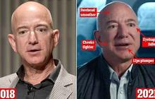 Vừa bị soán ngôi người giàu nhất thế giới, tỷ phú Amazon lại đau đầu khi bị soi gương mặt biến dạng khác thường