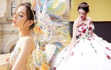 Địch Lệ Nhiệt Ba có nguyên 1 BST váy công chúa khiến hội bánh bèo nhìn mà nghiện, thú vị nhất chính là trùm cuối