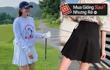 """Nhìn Hyomin diện chân váy tennis thấy """"cưng"""", bắt chước quá đơn giản vì vừa dễ mua lại siêu rẻ"""