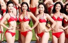 """Bức ảnh đọ sắc """"tiên tri"""" từ 7 năm trước: Phạm Hương - Khánh Vân """"bại trận"""" trước Kỳ Duyên, ai dè cả 3 đều thành Hoa hậu"""