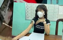 Công an làm việc với cô gái có hành vi phản cảm trên cầu Trường Tiền
