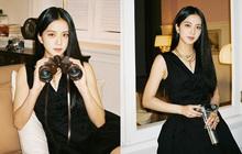 """Jisoo (BLACKPINK) hiếm lắm mới diện váy xẻ khoe vòng 1 """"mất máu"""", visual và khí chất """"Hoa hậu Hàn Quốc"""" bỗng thay đổi hẳn"""