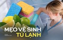 Tủ lạnh mùa dịch luôn đầy thức ăn dự trữ, làm thế nào để vệ sinh sạch sẽ, thơm tho?