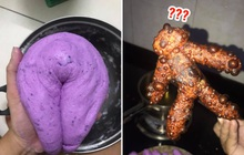 """Cô gái làm bánh khoai hình người nhưng ai nhìn thành phẩm cũng nổi da gà, chính chủ cũng phải """"bó tay"""""""