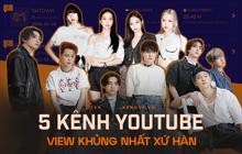 Top 5 kênh YouTube sở hữu lượt view khủng nhất xứ Hàn: BLACKPINK chỉ đứng thứ 3, nhưng BTS mới là cái tên gây bất ngờ nhất!