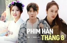 Phim Hàn tháng 8: Hội nam thần - mỹ nữ đồng loạt tái xuất, Krystal hay Kim Yoo Jung nắm kèo trên đây?