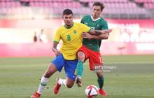 [Trực tiếp Bán kết Olympic] Brazil 0-0 Mexico (H1): Huyền thoại 38 tuổi sút búa bổ, thủ môn đầu xù vẫn đứng vững