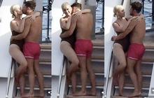 """Katy Perry bị chụp trộm ôm hôn đắm đuối tài tử """"Chúa nhẫn"""" trên du thuyền"""