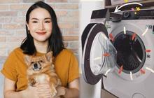 Giang Ơi bày tips giữ máy giặt vừa bền vừa sạch, xem xong khối người giật mình vì thường bỏ qua 1 bước