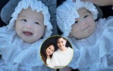 An Nguy khoe ảnh mới nhất của con gái cưng: Bé Bay 5 tháng tuổi cưng xỉu như búp bê, nhìn vào là thấy cả vũ trụ đáng yêu!