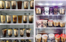 Cảnh báo: Nếu đã quá lâu chưa uống trà sữa thì đừng nhìn những chiếc tủ lạnh dưới đây!