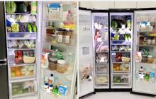 """Cô gái khoe chiếc tủ lạnh đúng chuẩn """"đại gia"""" mùa dịch: Giá sương sương gần """"50 củ"""", đồ ăn chất đầy như cái chợ!"""