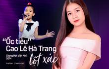 """Cô bé """"ốc tiêu"""" từng gặp sự cố sập sân khấu ở Giọng Hát Việt Nhí nay đã cao lớn phổng phao khó nhận ra!"""
