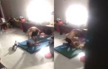 Clip gây phẫn nộ: Người đàn ông liên tục tát, đạp vào người bé trai nhỏ tuổi mặc đứa trẻ khóc lóc van xin