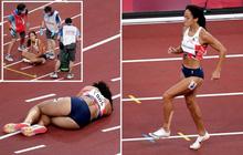 Nữ VĐV Olympic bất ngờ ngã gục trên đường chạy, từ chối sự hỗ trợ của đội ngũ y tế cô có hành động khiến tất cả thán phục