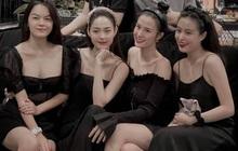 """Cả bầu trời nhan sắc tụ họp trong ảnh 4 chị đẹp Vbiz: Hoàng Thuỳ Linh được khen nhất, Đông Nhi - Minh Hằng bị nghi """"dao kéo""""?"""