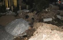 Hà Nội: Người phụ nữ đi lại quanh bãi đất trống buổi sáng, buổi chiều được phát hiện tử vong