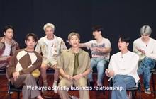 """BTS bất ngờ thú nhận """"chỉ là mối quan hệ làm ăn nghiêm túc"""", có thật sự thân thiết hay chỉ là """"sự ảo tưởng"""" của fan?"""